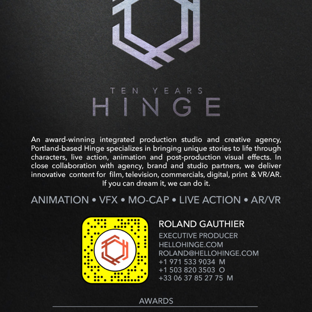 Hinge Postcard 2