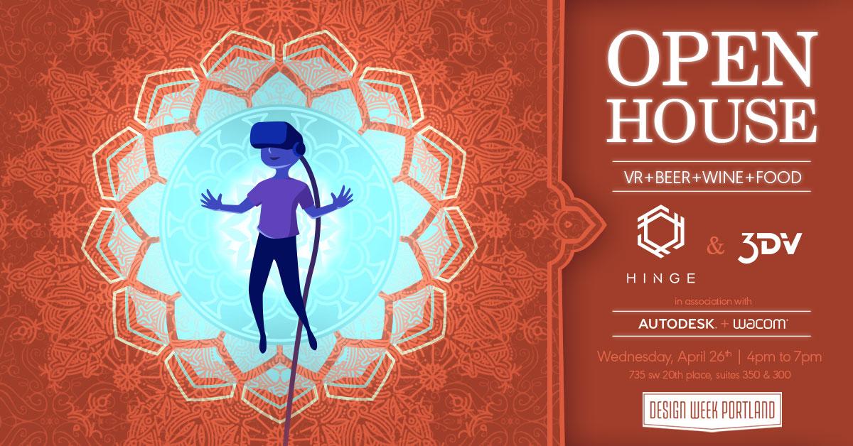 Hinge and 3DV Host Design Week Portland Open House