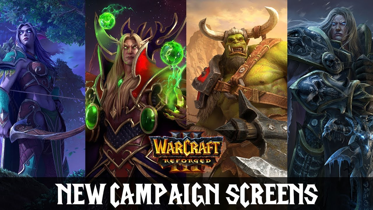activision blizzard warcraft 3 reforged loading screens