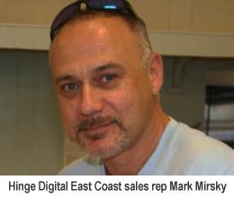 Mark Mirsky Signs with Hinge Digital as East Coast Rep