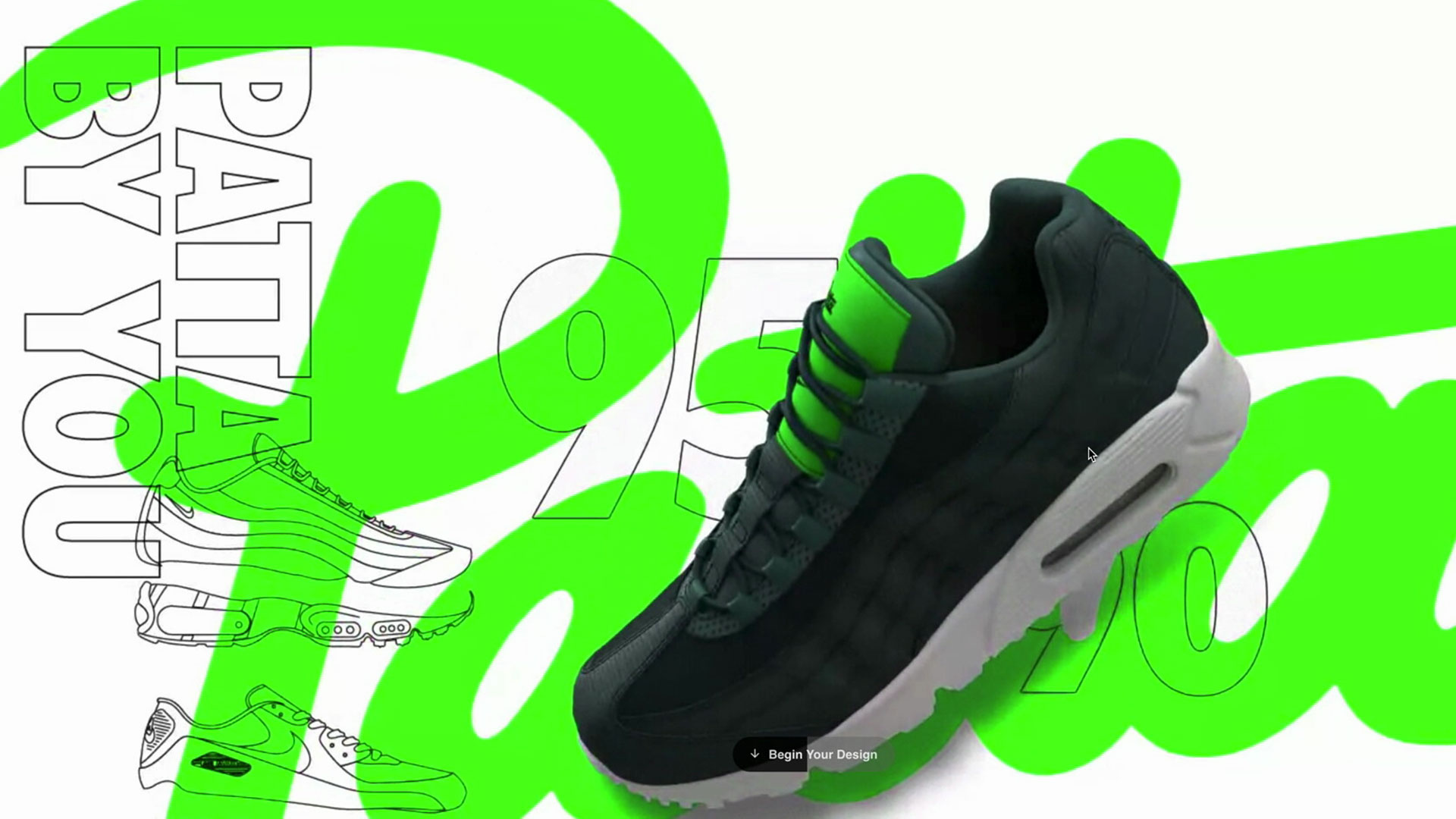 Nike By You WebGL Microsite