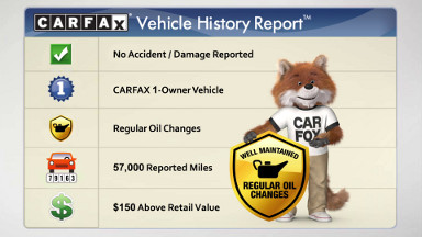thumb carfax report