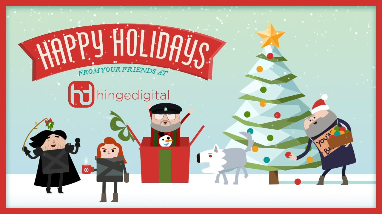 Happy Hinge Holidays!